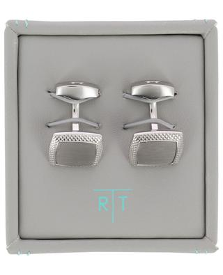 Satin Quadrato cufflinks TATEOSSIAN