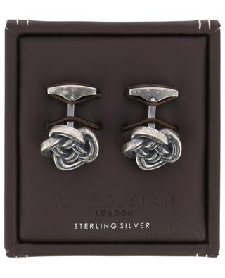 Celtic Knot silver cufflinks TATEOSSIAN