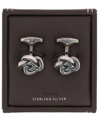 Celtic Knot silver cufflinks TATEOSSIAN