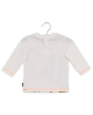 Langärmliges T-Shirt aus Baumwolle mit Print LITTLE MARC JACOBS