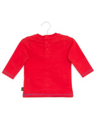Long-sleeved print cotton T-shirt LITTLE MARC JACOBS