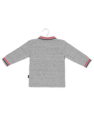Print cotton piqué polo shirt LITTLE MARC JACOBS