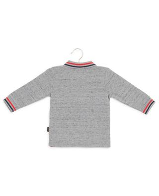 Print cotton piqué polo shirt LITTLE MARC JACOBS
