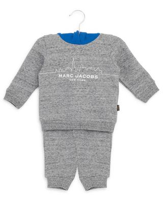 Ensemble de jogging sweat-shirt et pantalon en coton mélangé LITTLE MARC JACOBS
