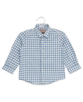 Chemise à carreaux en coton IL GUFO
