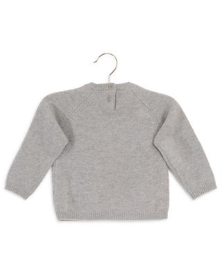 Hedgehog embroidered wool jumper IL GUFO