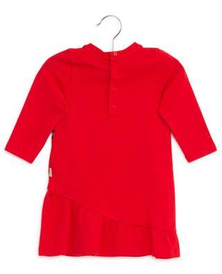Sweatkleid mit Schoss und Handtaschenprint LITTLE MARC JACOBS
