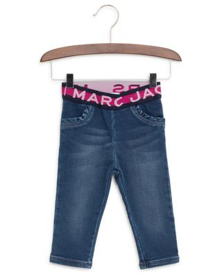 Jeans with elasticated logo print waistband LITTLE MARC JACOBS