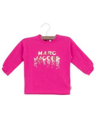 Langärmliges T-Shirt aus Pailletten LITTLE MARC JACOBS