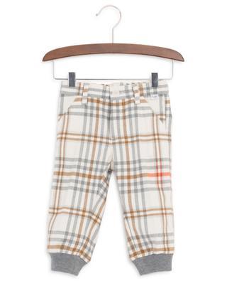 Pantalon à carreaux en flanelle IL GUFO