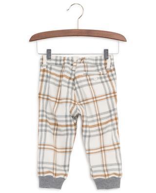 Checked flannel trousers IL GUFO