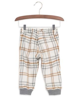 Checked flannel trousers IL GUFO