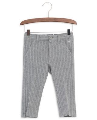 Pantalon milleraie en jersey IL GUFO