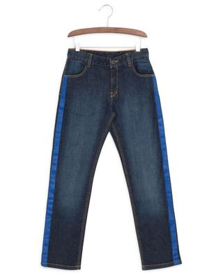 Side bands adorned jeans LITTLE MARC JACOBS