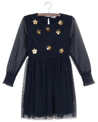 Kleid aus getupftem Tüll Golden Daisy LITTLE MARC JACOBS