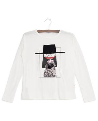 T-shirt brodé de sequins réversibles Miss Marc LITTLE MARC JACOBS