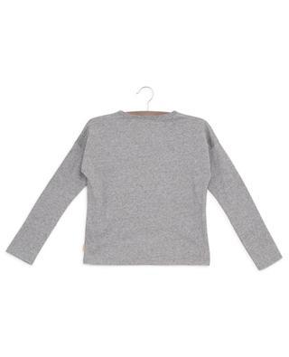 T-shirt manches longues à paillettes en coton LITTLE MARC JACOBS