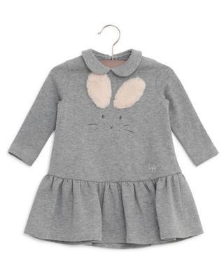 Kleid aus Baumwolle Häschen IL GUFO