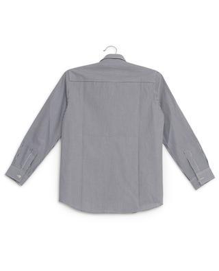 Finely striped cotton shirt IL GUFO