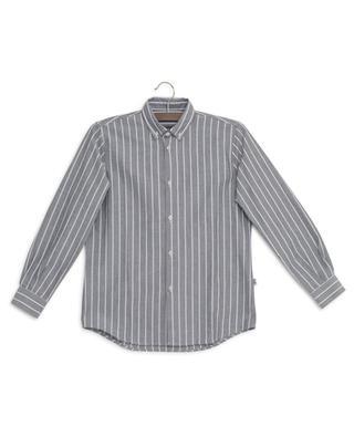 Striped chambray shirt IL GUFO