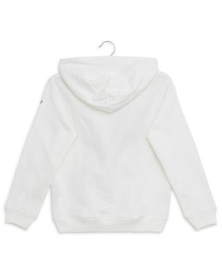Sweat-shirt à capuche en coton avec broderie IL GUFO