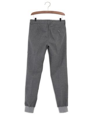 Hose aus Flanell mit Rippbündchen IL GUFO