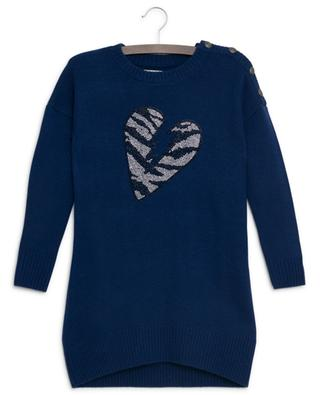 Harlow broken heart jumper dress ZADIG & VOLTAIRE