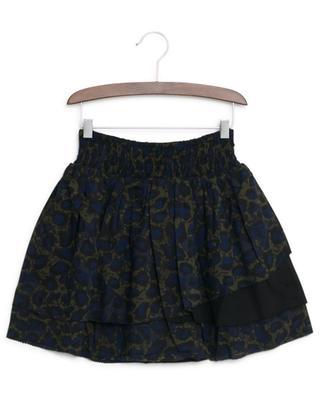 Alexa ruffled camouflage print skirt ZADIG & VOLTAIRE