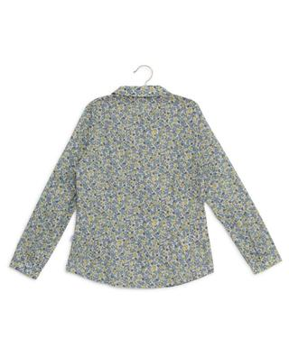 Floral cotton veil shirt IL GUFO