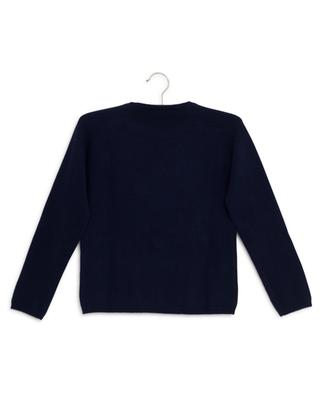 Pompon embroidered virgin wool jumper IL GUFO
