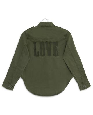 Bonnie Love thick embroidered shirt ZADIG & VOLTAIRE
