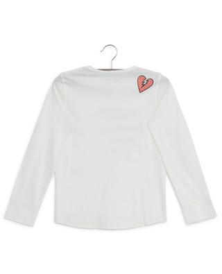 Boxo cracked logo long-sleeved T-shirt ZADIG & VOLTAIRE