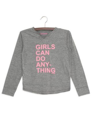 Boxo Girls Can Do Anything cotton blend T-shirt ZADIG & VOLTAIRE