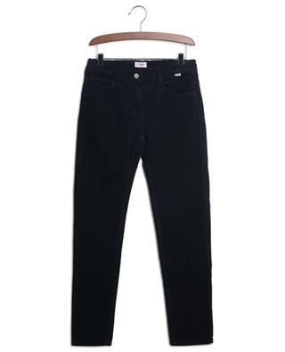 Pantalon en velours côtelé avec taille ajustable IL GUFO