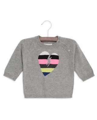Zazou cotton blend jumper with heart ZADIG & VOLTAIRE