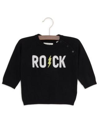 Zazou cotton blend jumper with Rock lettering ZADIG & VOLTAIRE