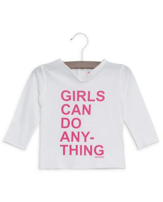 Langarm-T-Shirt Boxy Girls Can Do Anything ZADIG & VOLTAIRE