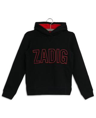 Kapuzensweatshirt mit Logoprint Alvin ZADIG & VOLTAIRE