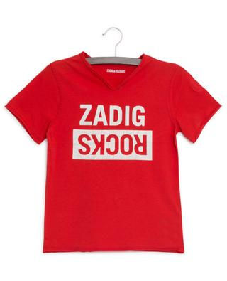 T-shirt imprimé Zadig Rocks Boxer ZADIG & VOLTAIRE
