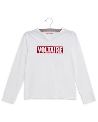 T-shirt imprimé logo Boxer ZADIG & VOLTAIRE