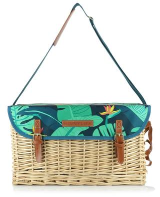 Monteverde Luxe wicker picnic basket SUNNYLIFE