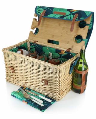 Picknickkorb aus Korbweide Monteverde Luxe SUNNYLIFE