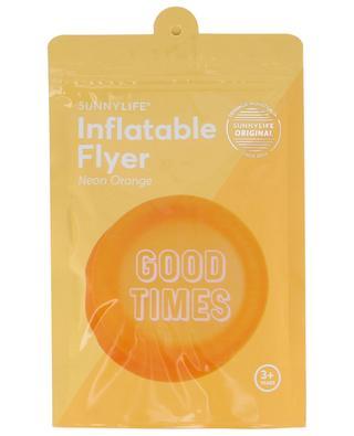Aufblasbare Frisbee-Scheibe Neon Orange Good Times SUNNYLIFE
