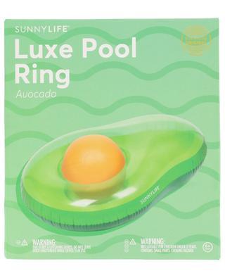 Flotteur Luxe Pool Ring Avocado SUNNYLIFE