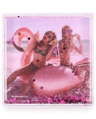 Cadre photo carré pailleté Glitter Frame Flamingo SUNNYLIFE
