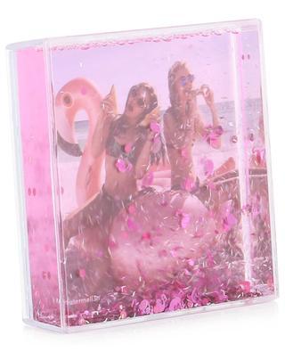 Quadratischer Bilderrahmen Glitter Frame Flamingo SUNNYLIFE