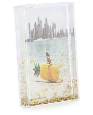 Glitter Frame Pineapple rectangular picture frame SUNNYLIFE