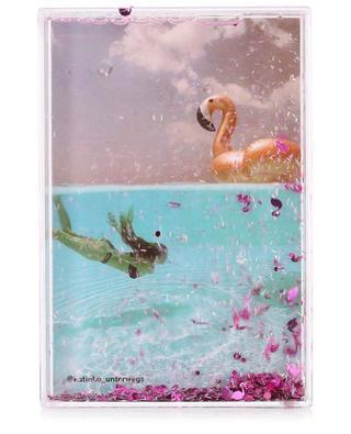 Rechteckiger Bilderrahmen Glitter Frame Flamingo SUNNYLIFE