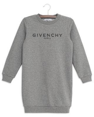 Robe sweat imprimée Vintage Logo GIVENCHY