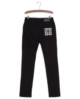 Legging esprit jean brodé logo 4G GIVENCHY
